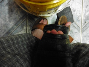 2015-8-3 My broken boot
